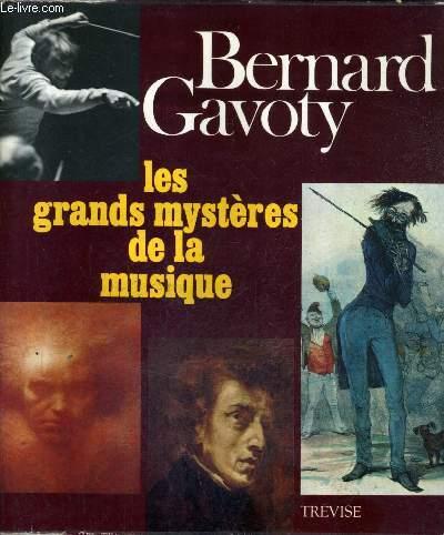 LES GRANDS MYSTERES DE LA MUSIQUE.