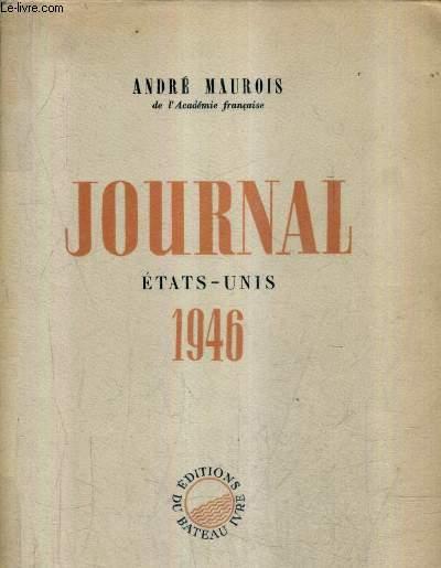 JOURNAL ETATS UNIS 1946.