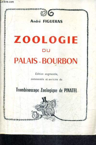 ZOOLOGIE DU PALAIS BOURBON.