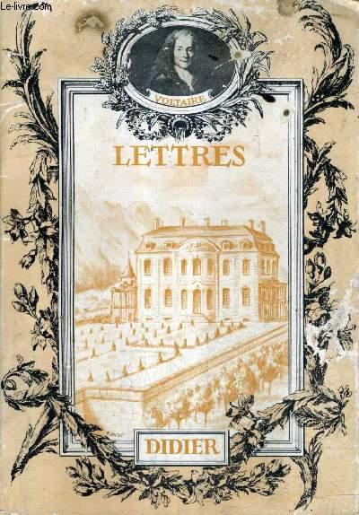 LETTRES - COLLECTION LES CLASSIQUES DE LA CIVILISATION FRANCAISE.
