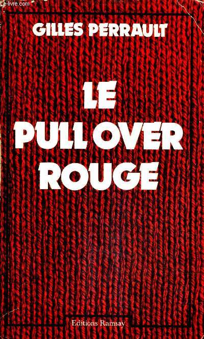 LE PULL OVER ROUGE.