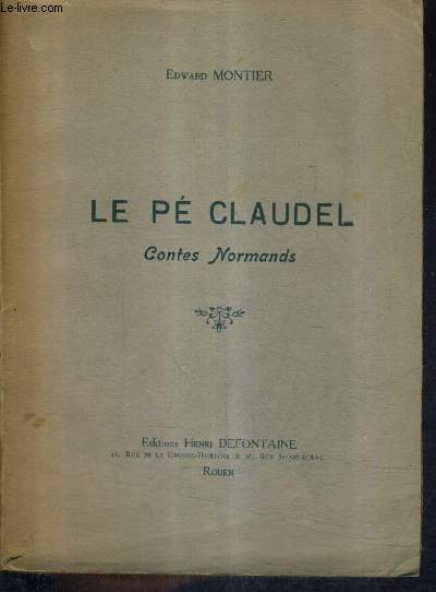 LE PE CLAUDEL CONTES NORMANDS.