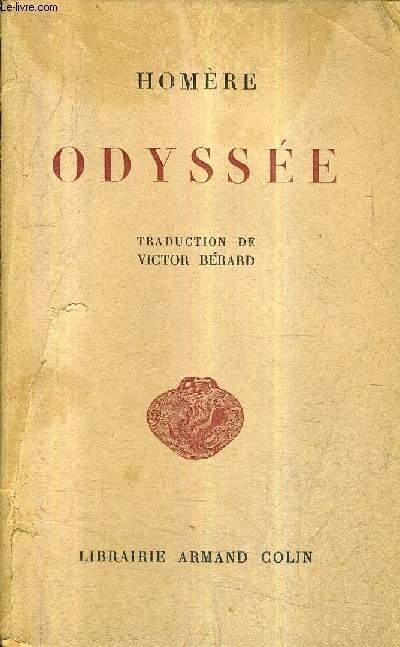 ODYSSEE - TRADUCTION DE VICTOR BERARD / 2E EDITION.