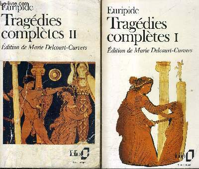TRAGEDIES COMPLETES - EN DEUX TOMES - TOMES 1 + 2 / COLLECTION FOLIO.