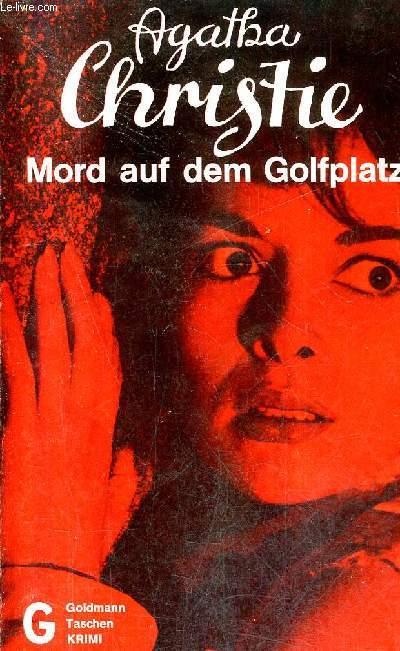 MORD AUF DEM GOLFPLATZ MURDER ON THE LINKS - KRIMINALROMAN.