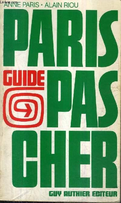 PARIS PAS CHER.