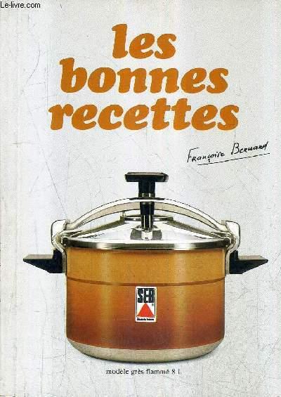 LES BONNES RECETTES - SEB .
