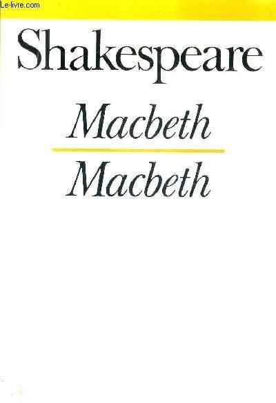MACBETH - MACBETH / COLLECTION BILINGUE .