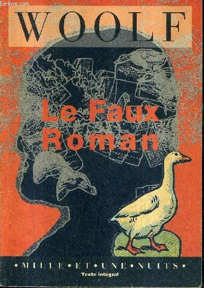 LE FAUX ROMAN.