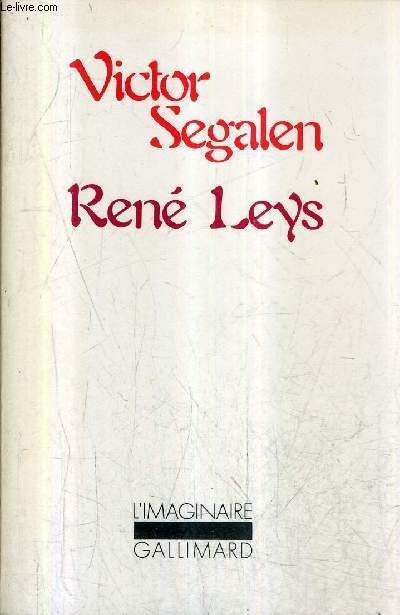 RENE LEYS / COLLECTION L'IMAGINAIRE N°28.