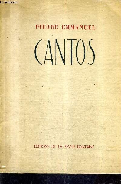 XX CANTOS.