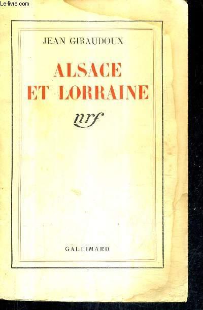 ALSACE ET LORRAINE.