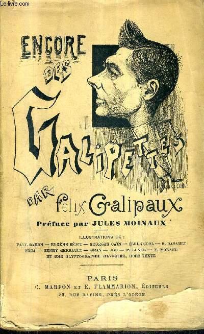 ENCORE DES GALIPETTES ! + ENVOI DE L'AUTEUR.