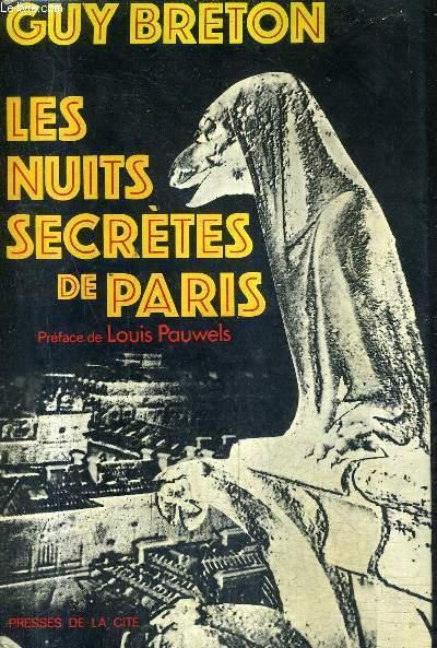 LES NUITS SECRETES DE PARIS / COLLECTION COUP D'OEIL .
