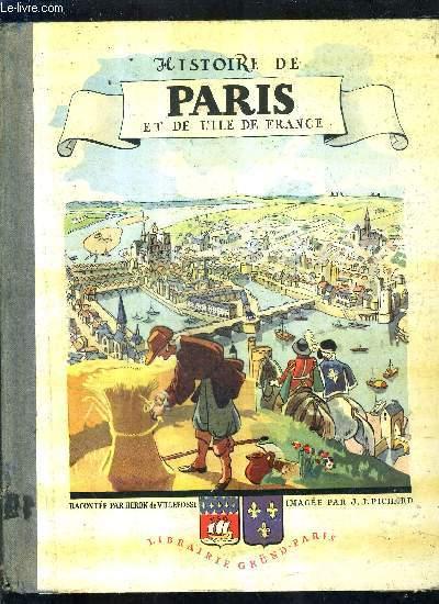 HISTOIRE DE PARIS ET DE L'ILE DE FRANCE.
