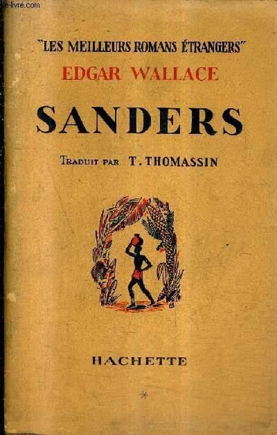 SANDERS / COLLECTION LES MEILLEURS ROMANS ETRANGERS.