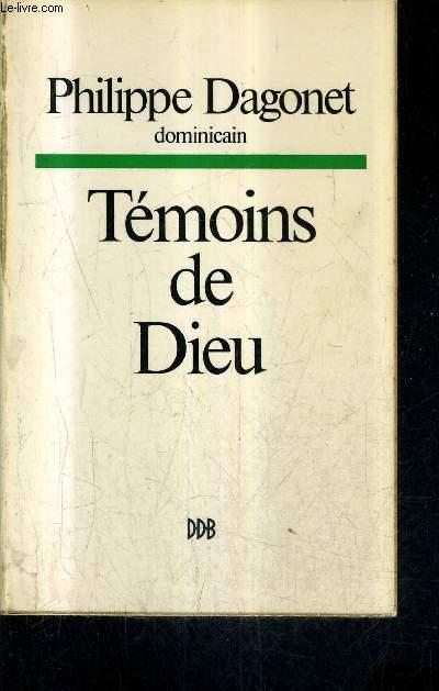TEMOINS DE DIEU.