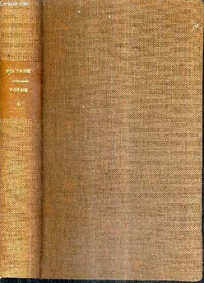 VOLTAIRE EDITION PUBLIEE PAR M.TOUQUET - POESIE TOME 2 .