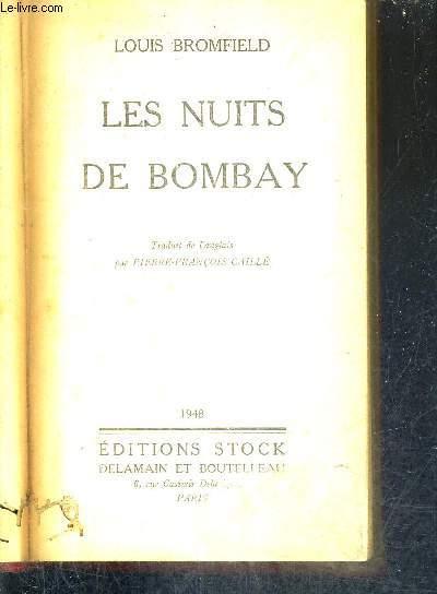 LES NUITS DE BOMBAY.