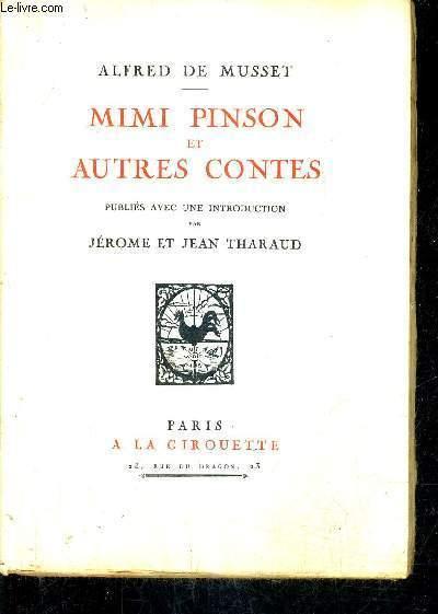 MIMI PINSON ET AUTRES CONTES.