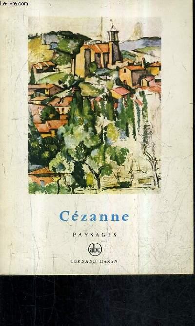 CEZANNE - PAYSAGES.