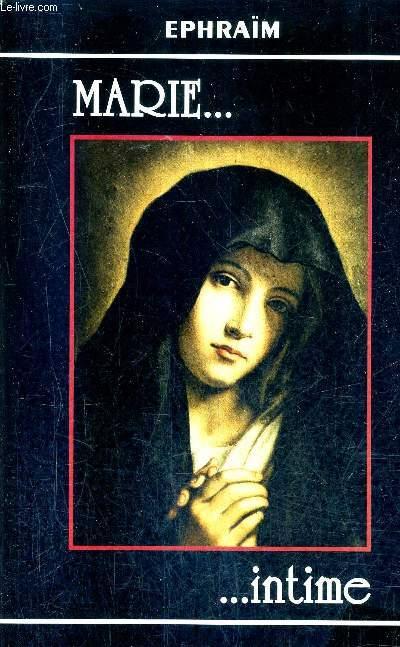 MARIE INTIME - ELEVATIONS SUR LE NOM DE MARIE / 2E EDITION.