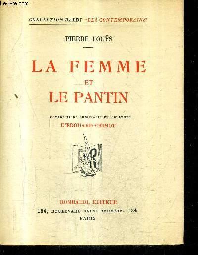 LA FEMME ET LE PANTIN / COLLECTION BALDI LES CONTEMPORAINS.