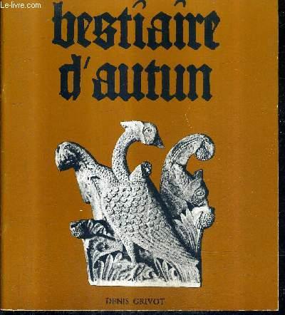 LE BESTIAIRE DE LA CATHEDRALE D'AUTUN.