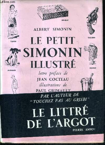 LE PETIT SIMONIN ILLUSTRE - DICTIONNAIRE D'USAGE.
