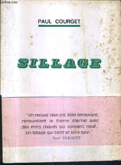 SILLAGE / COLLECTION ACTUELLES POETIQUES.