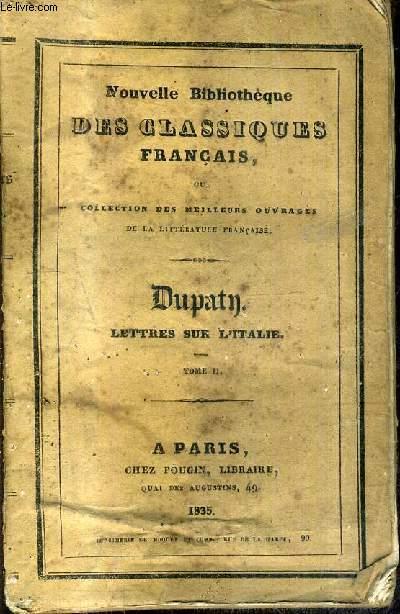 LETTRES SUR L'ITALIE EN 1785 - TOME 2.