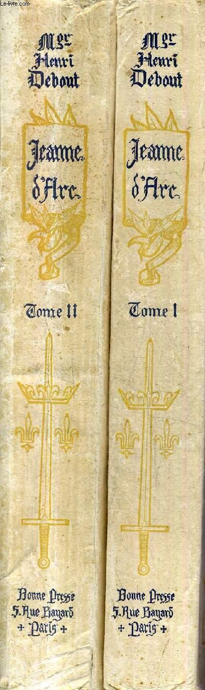 JEANNE D'ARC 1412-1431 GRANDE HISTOIRE ILLUSTREE - EN DEUX TOMES - TOMES 1 + 2 / 3E EDITION.