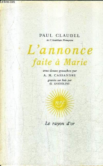 L'ANNONCE FAITE A MARIE.
