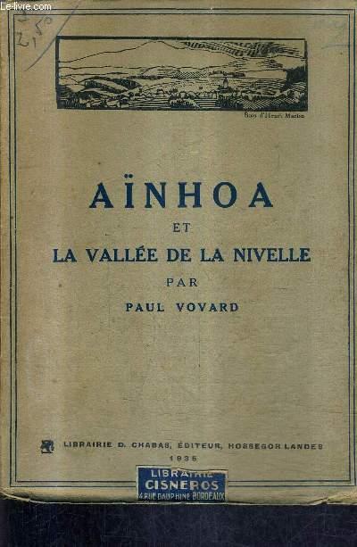 AINHOA ET LA VALLEE DE LA NIVELLE.