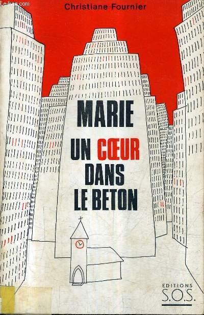 MARIE UN COEUR DANS LE BETON
