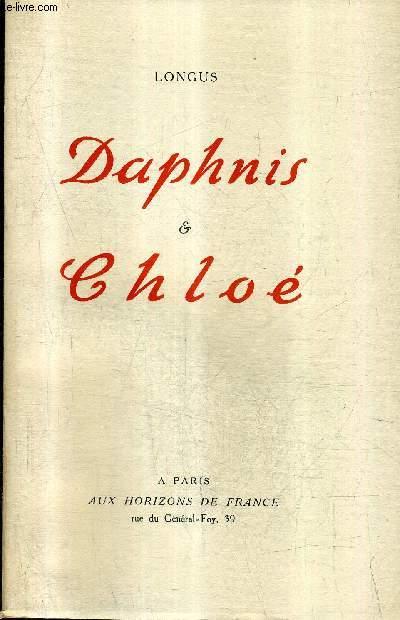 LES AMOURS PASTORALES DE DAPHNIS ET CHLOE.