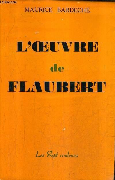 L'OEUVRE DE FLAUBERT.