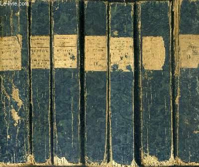 HISTOIRE NATURELLE DE BUFFON MISE DANS UN NOUVEL ORDRE PRECEDE D'UNE NOTICE SUR LA VIE ET LES OUVRAGES DE CET AUTEUR PAR M. LE BARON CUVIER - EN 34 TOMES - TOMES 1 + 2 + 4 + 5 + 6 + 7 + 9 + 10 + 11 + 12 + 13 + 14 ... AU TOME 36 - MANQUE LES TOMES 3 ET 8 .