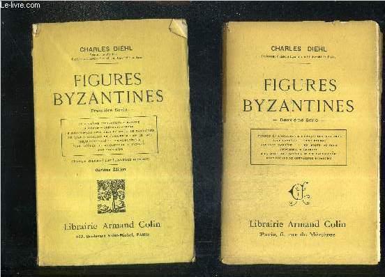 FIGURES BYZANTINES / EN DEUX SERIES / SERIES 1 + 2 .