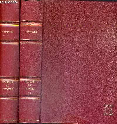 ROMANS ET CONTES / EN DEUX TOMES / TOMES 1 + 2 / COLLECTION LETTRES FRANCAISES.