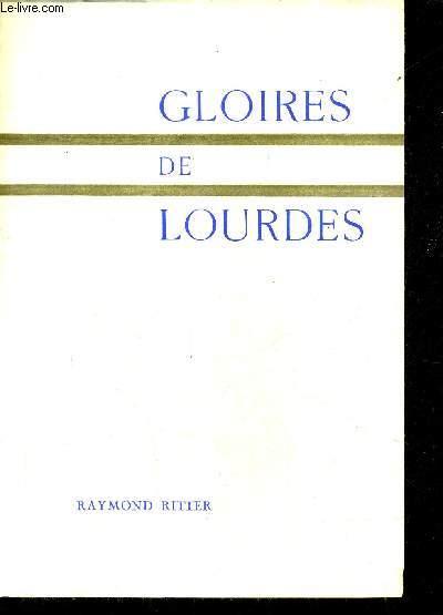 GLOIRES DE LOURDES.