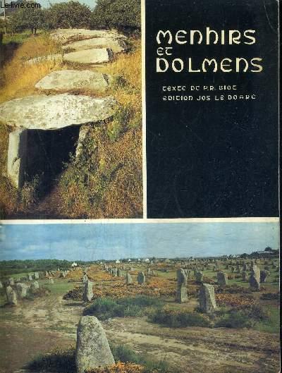 MENHIRS ET DOLMENS MONUMENTS MEGALITHIQUES DE BRETAGNE.