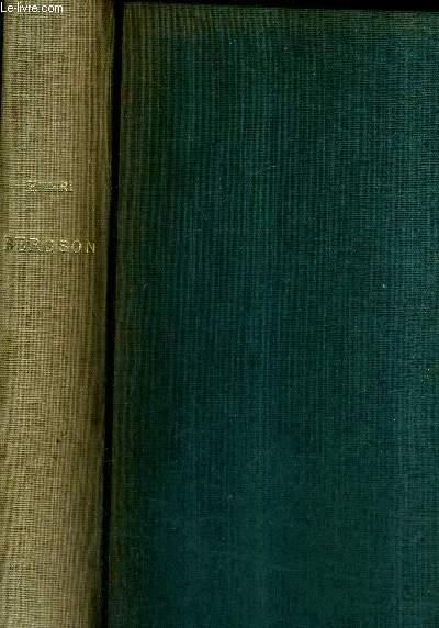 HENRI BERGSON ESSAIS ET TEMOIGNAGES INEDITS RECUEILLIS PAR ALBERT BEGUIN ET PIERRE THEVENAZ / 2E EDITION.
