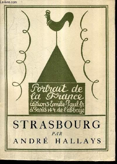 STRASBOURG / COLLECTION PORTRAITS DE LA FRANCE N°26.