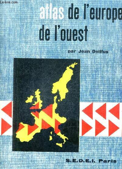 ATLAS DE L'EUROPE DE L'OUEST.