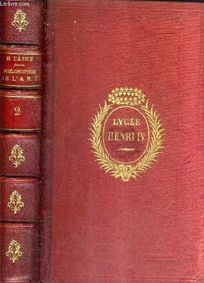 PHILOSOPHIE DE L'ART - TOME 2 / 8E EDITION.