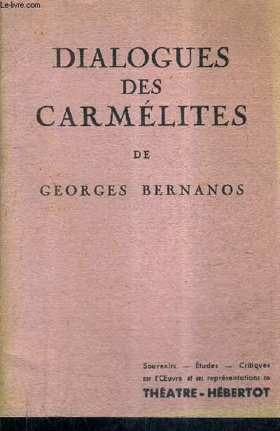 DIALOGUES DES CARMELITES.