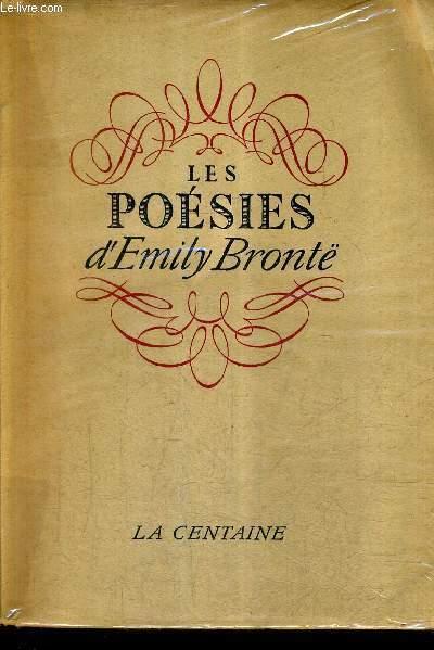 LES POESIES D'EMILY BRONTE.