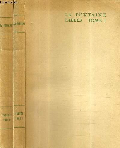 LA FONTAINE FABLES / EN DEUX TOMES / TOMES 1 + 2 .