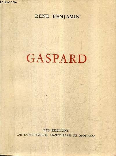 GASPARD / COLLECTION DES PRIX GONCOURT.